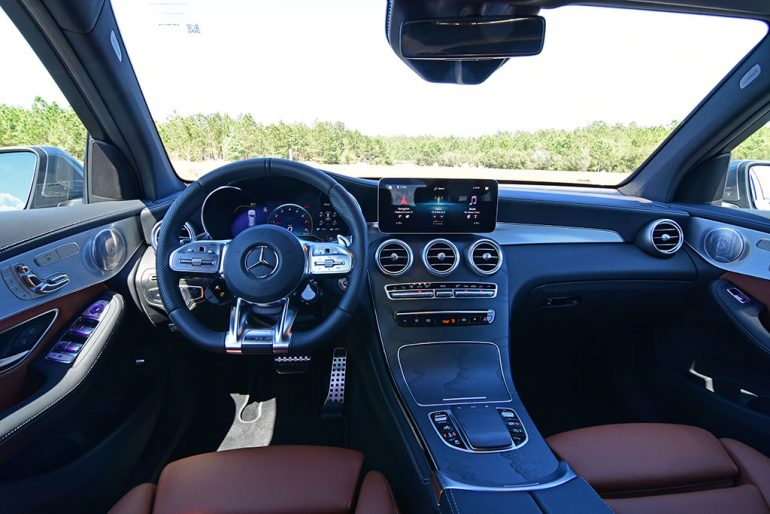 2020 mercedes-amg glc 43 interior