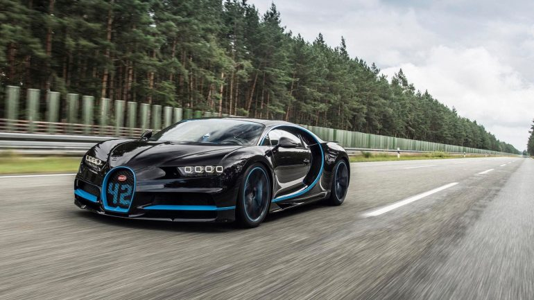 How They Filmed a Bugatti Chiron at 250 MPH: All Details and the Camera Car Revealed