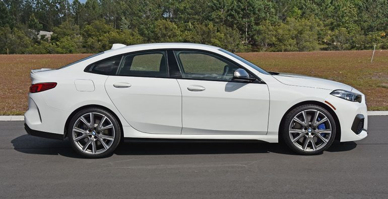 2020 bmw m235i gran coupe side