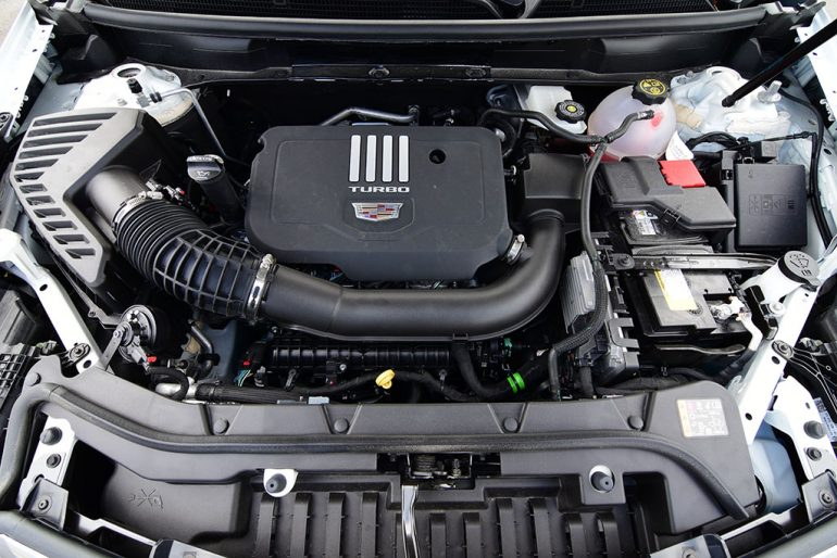 2020 cadillac xt5 2.0 turbo engine