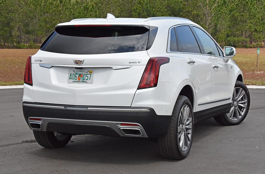 2020 Cadillac Xt5 Turbo 4 Rear 1 Automotive Addicts