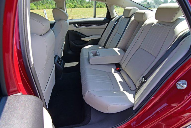 2020 honda accord touring back seats