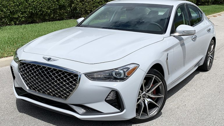 Genesis G70 2.0 six-speed Future Classic