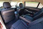 2020 genesis g90 premium 3.3t rear interior