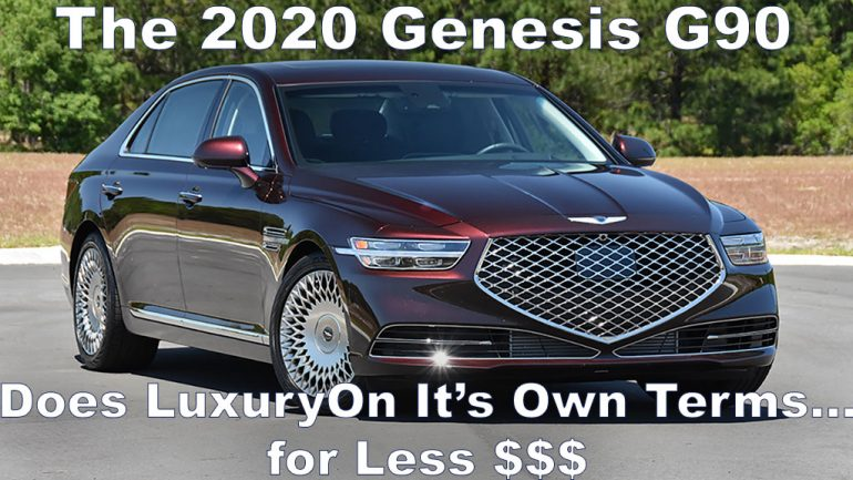 Video Test Drive Review: 2020 Genesis G90
