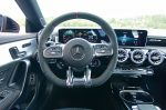 2020 mercedes-amg cla 35 steering wheel