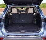 2020 toyota highlander platinum cargo third row