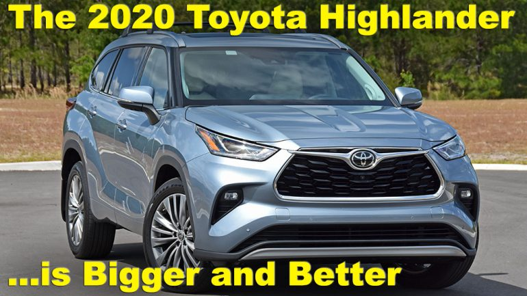 Video Test Drive Review: 2020 Toyota Highlander