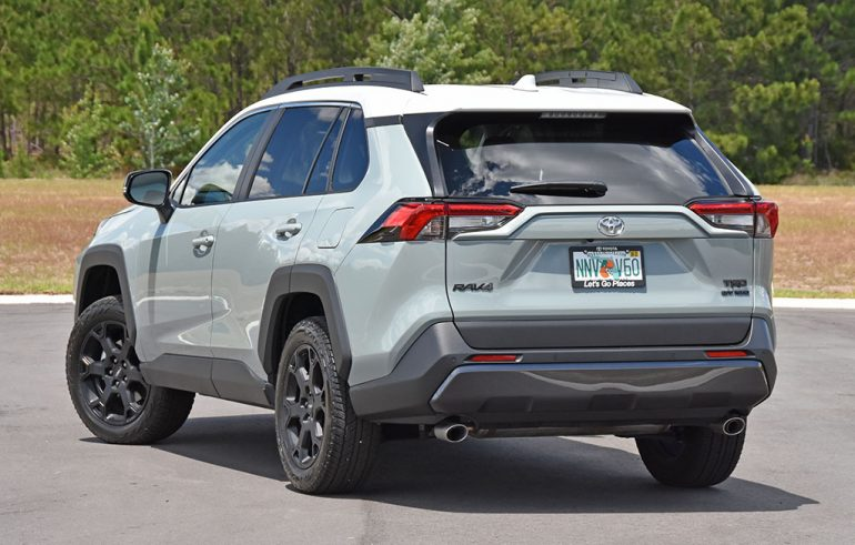 2020 toyota rav4 trd off-road back