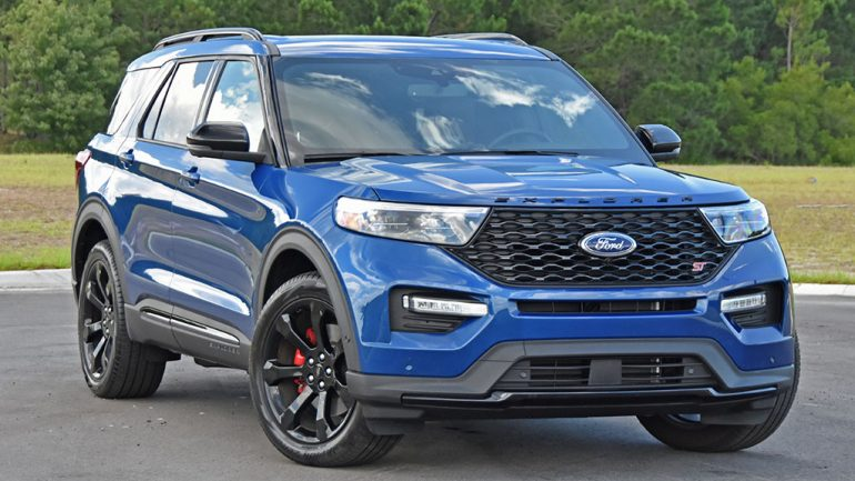 2020 Ford Explorer ST Review & Test Drive