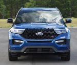 2020 ford explorer st front
