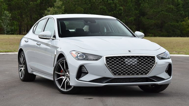 2020 Genesis G70 RWD 2.0T Sport Manual Transmission Review & Test Drive