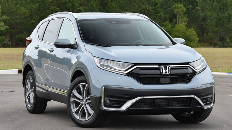 2020 Honda CR-V 1.5T AWD Touring Review & Test Drive
