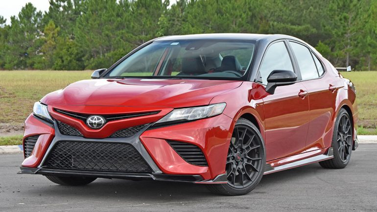 2020 Toyota Camry TRD Review & Test Drive