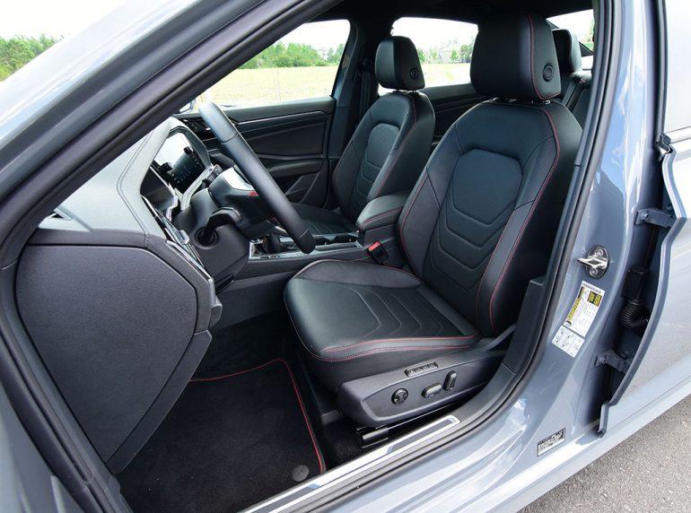 2020 volkswagen jetta gli autobahn front seats