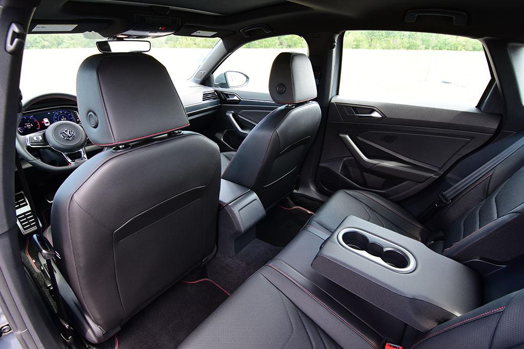 2020 Volkswagen Jetta Gli Manual Interior Rear Automotive Addicts