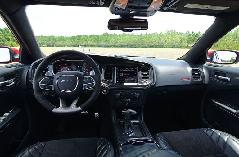 2020 dodge charger srt hellcat widebody dashboard