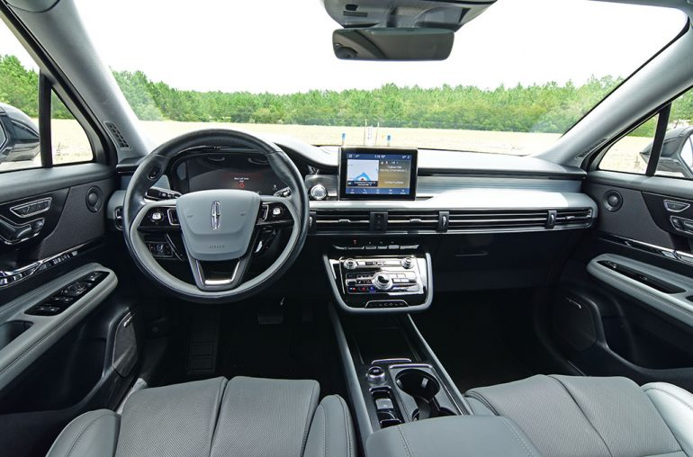 2020 lincoln corsair dashboard