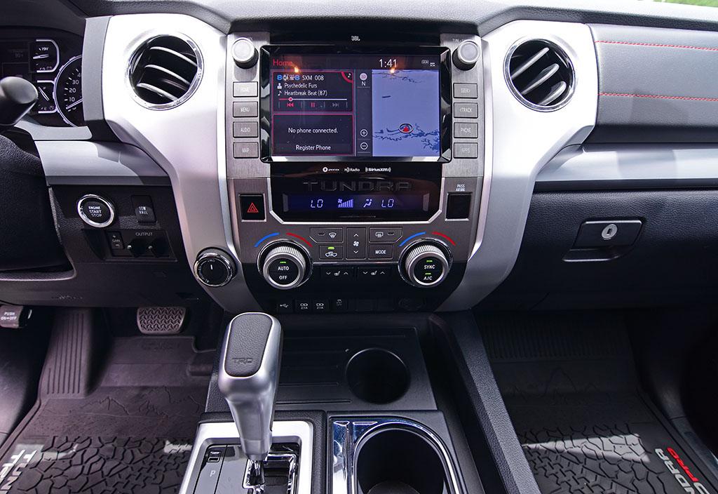 2020 Toyota Tundra Trd Pro Center Dashboard Automotive Addicts