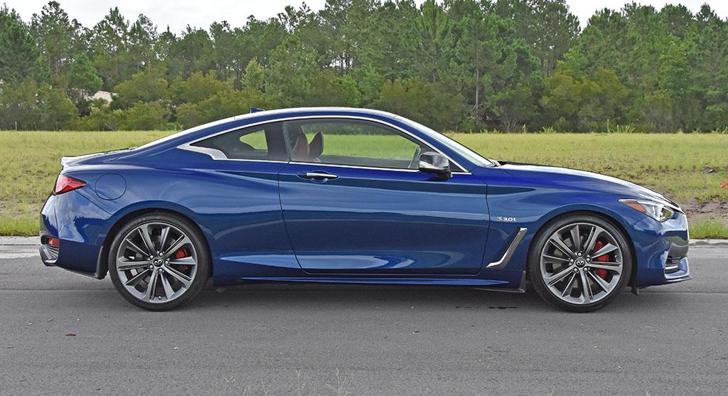 2020 infiniti q60 red sport 400 review & test drive