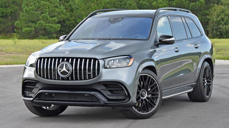 2021 Mercedes-AMG GLS 63 Review & Test Drive