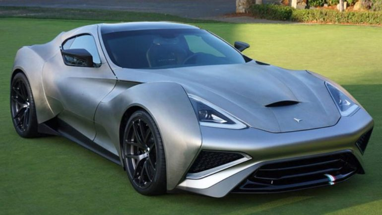 A Look At The $2.7 Million Icona Vulcano Titanium