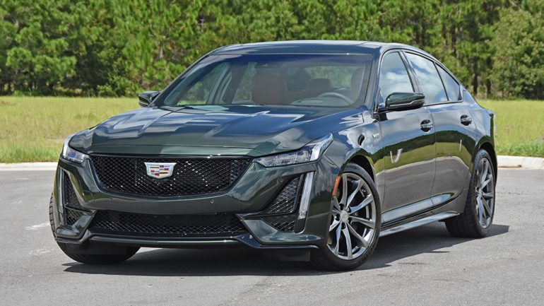 2020 Cadillac CT5-V Review & Test Drive