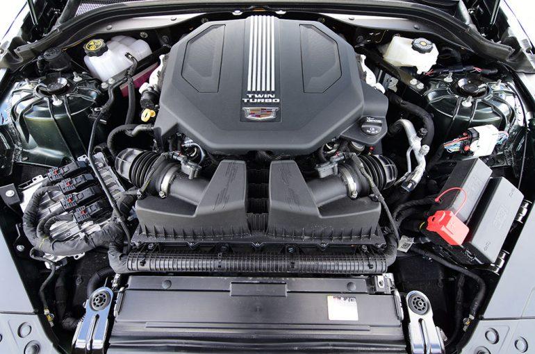 2020 cadillac ct5-v twin-turbo v6 engine