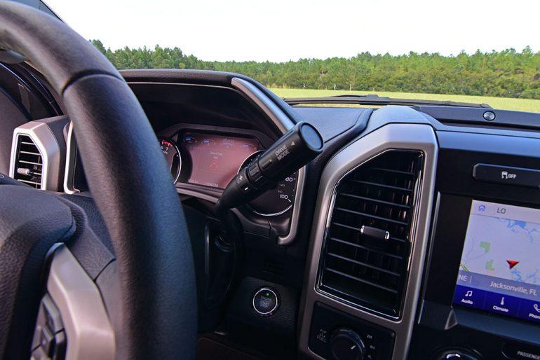 2020 ford f-250 super duty 7.3 V8 gasoline lariat column shifter
