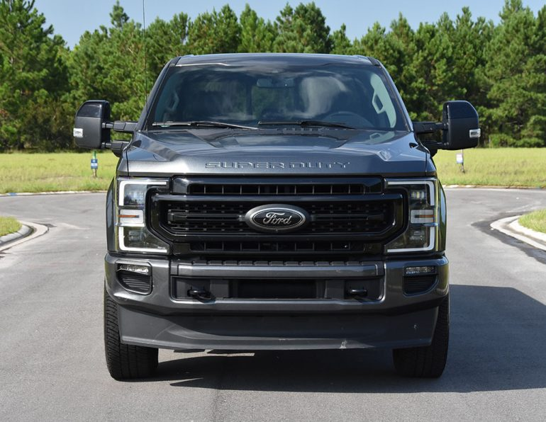 2020 ford f-250 super duty 7.3 V8 gasoline lariat front grill