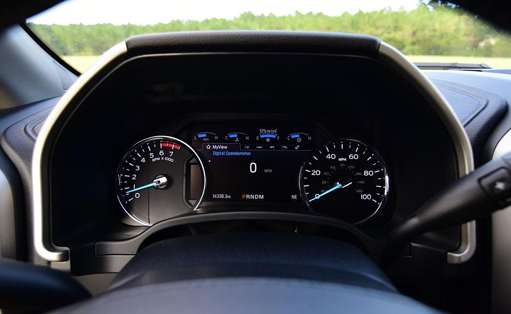 2020 ford f-250 super duty 7.3 V8 gasoline lariat gauges