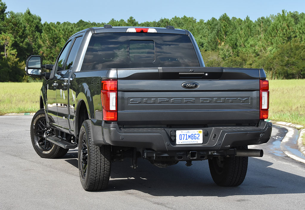 2020 ford f-250 super duty 7.3 V8 gasoline lariat rear