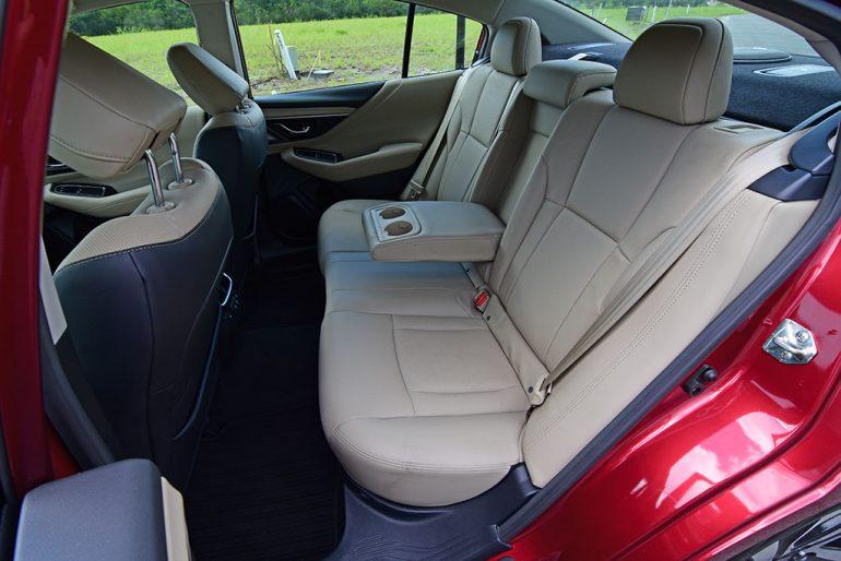 2020 subaru legacy limited xt back seats