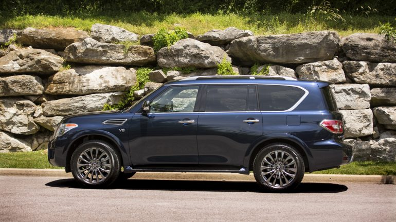 The 2020 Nissan Armada Offers Premium on a Budget