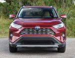 2020 toyota rav4 hybrid limited front