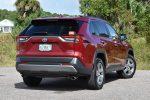2020 toyota rav4 hybrid limited rear angle