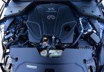 2021 infiniti q50 red sport 400 awd twin-turbo V6 engine