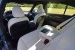 2021 infiniti q50 red sport 400 awd interior rear