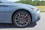 2021 infiniti q50 red sport 400 awd 19-inch wheel tire
