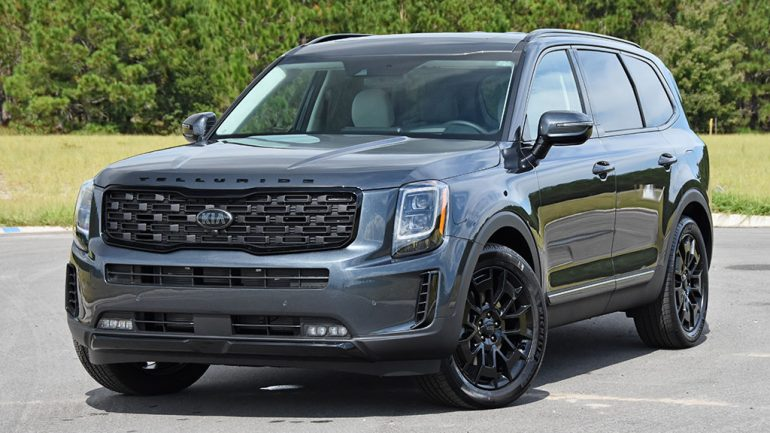 2021 Kia Telluride SX V6 AWD Nightfall Edition Review & Test Drive