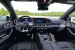 2021 mercedes-amg gle 53 coupe dashboard
