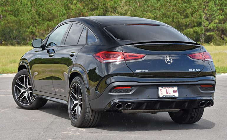 2021 mercedes-amg gle 53 coupe rear