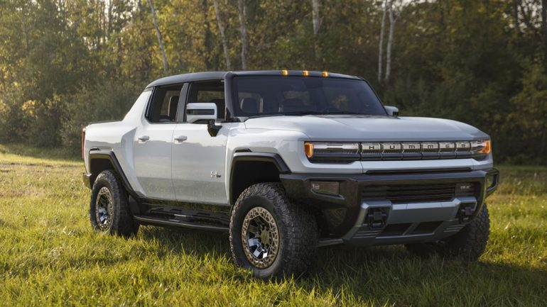 2022 GMC Hummer EV Revealed with 1,000HP/11,500 lb-ft of Torque & 350+ Mile Range