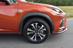 2020 lexus nx 300 f sport wheel tire