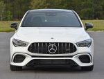 2020 mercedes-amg cla45 front