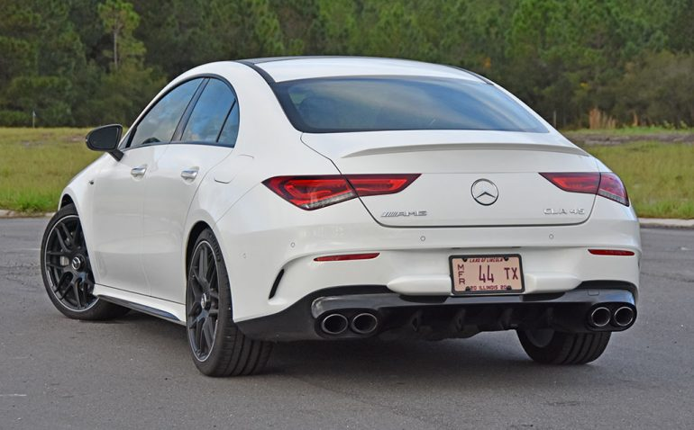 2020 mercedes-amg cla45 rear