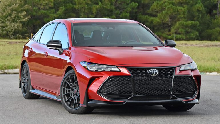 2020 Toyota Avalon TRD Review & Test Drive