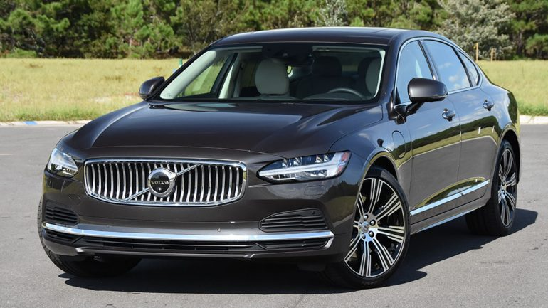2021 Volvo S90 Recharge T8 eAWD Inscription Review & Test Drive