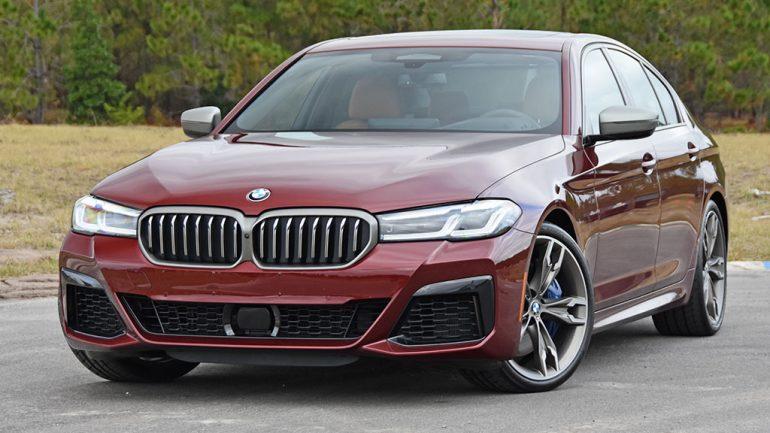 2021 BMW M550i xDrive Review & Test Drive