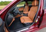 2021 bmw m550i xdrive front seats